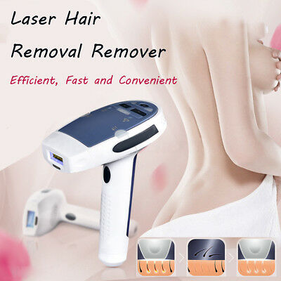 IPL Hair Laser Removal Permanent Body Face Beauty Device 300000 Pulses & 2 Heads