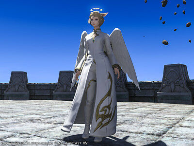 FINAL FANTASY XIV FFXIV FF14 Item Character Angelic Attire Code PC PS4 not Gil