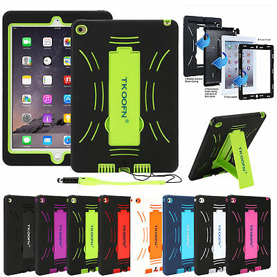 "Shock Proof Protective Case Cover Stand For Apple iPad 4 3 2 Mini Air 9.8"" 2018"