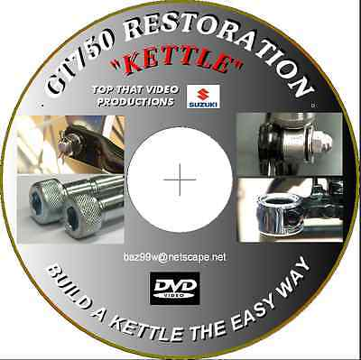 "Suzuki Gt750 "" Kettle"" Restoration Film  Great Christmas Gift"