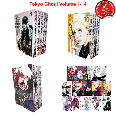 Tokyo Ghoul Series Sui Ishida Collection Volume 1-14 Books Set Anime & Manga NEW