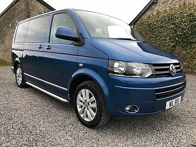 VW CARAVELLE EXECUTIVE DSG with factory fitted kids seats! FVWSH and low  miles