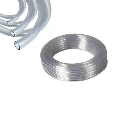 Clear Un-reinforced PVC Tubing, Plastic Hose. Food Grade, Water, Fish, Auto Pipe