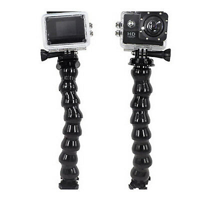 Flexible Clamp Arm Mount Adjustable Bent Goose Neck Hose For GoPro Hero 3/ 3+/ 4