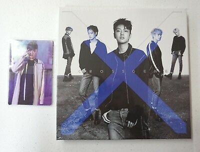 Cross Gene - Zero (5th Mini Album) A Type CD+Photocard Set Sealed KPOP