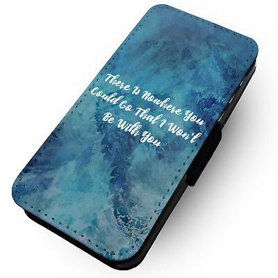 Be With You - Printed Faux Leather Flip Phone Case #2