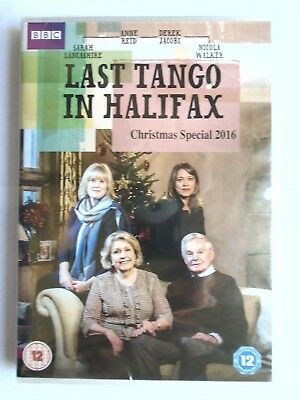 last tango in halifax christmas special 2016 dvd new sealed wl