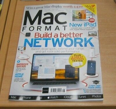 Mac Format magazine #326 JUN 2018 Build a Better Network, Improve Safari & more