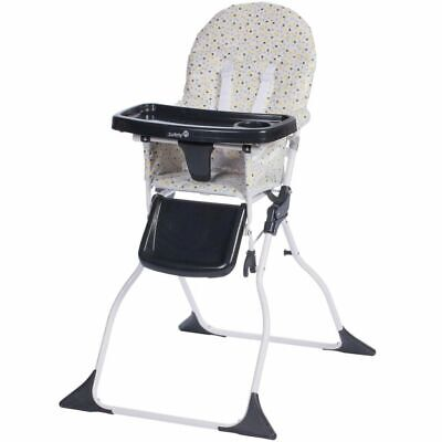 Safety 1st Folding High Chair Keeny Grey Patches Black Child Stool 2766949000