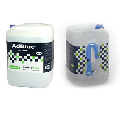 AdBlue 20 Litre 20L Diesel Engine SCR System Treatment With Spout - Greenchem