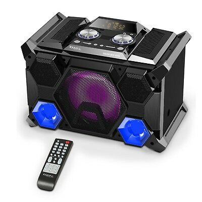 IBIZA SPLBOX400 Box Lautsprecher DJ Bluetooth USB SD Karaoke Boombox LED 400W