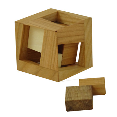 OMPIC 4 piece frame packing puzzle