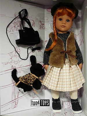 Gotz HANNAH AND HER DOG PLAY DOLL - 50 cm/ 19.8in. - NRFB