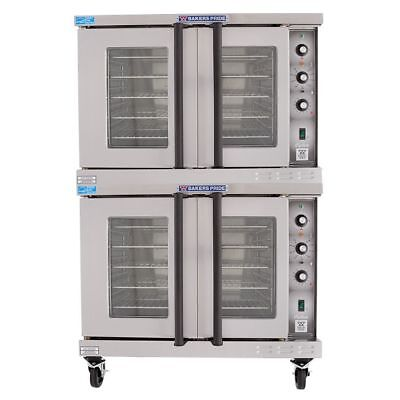 Bakers Pride BCO-E2 Cyclone Electric Full Size Double Stacked Convection Oven