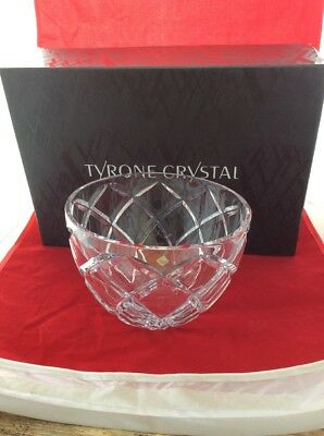 Tyrone crystal cut glass Bowl RRP £140