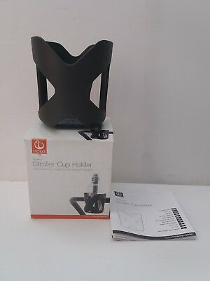 Stokke Stroller Attachable Cup Holder Accessory Dark Grey