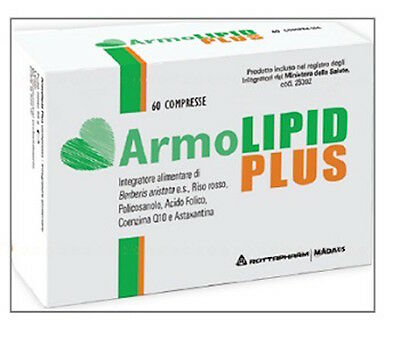 Armolipid Plus 60 cpr - Prodotto originale Italia