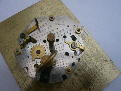 Vintage German Miniature Quality Made Clock Spares Movement Working W52