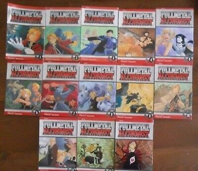 Complete Fullmetal Alchemist Manga Collection 1-27