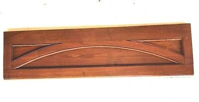 Vintage Header Pediment Entryway Mantel Mantle