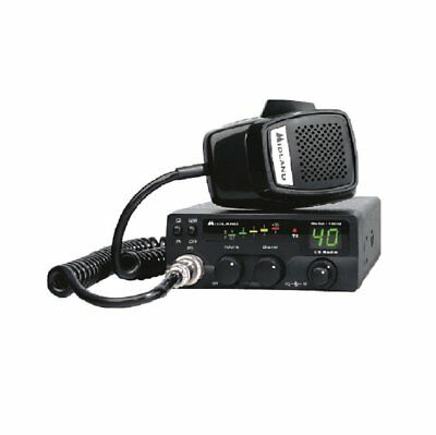 Midland 1001Z 40 Channel Compact Cb Radio With Full 4 Watt Power