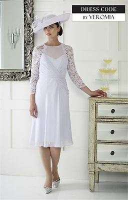 Irresisitble Veromia Dress Size 10 Mother Of The Bride Brand New