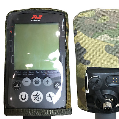 Dirt Cover case for Minelab Equinox 600 800 control box - Colour: Multicam MTP