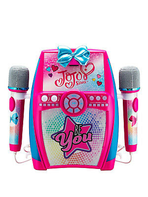 Jo Jo Siwa Deluxe Sing along Boombox with Dual Microphones NEW