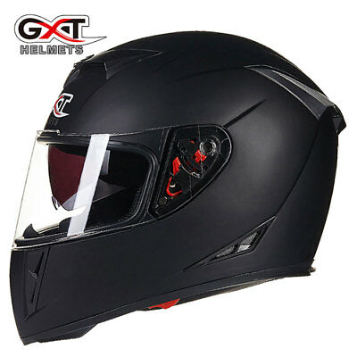 GXT 358 Motocross Racing Helmet Motorcycle Full Face Dual Shield Moto Helmets