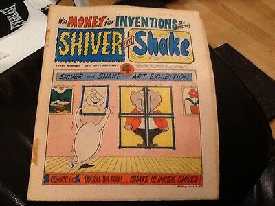 SHIVER AND SHAKE  Paper comic 1973 ISSUE NUMBER 38 Still in good condition