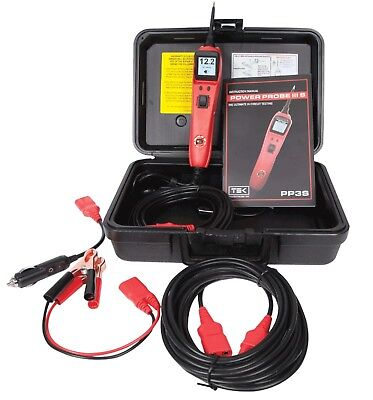 Power Probe 3S W/ Case & Accessories Red Pp3S01As