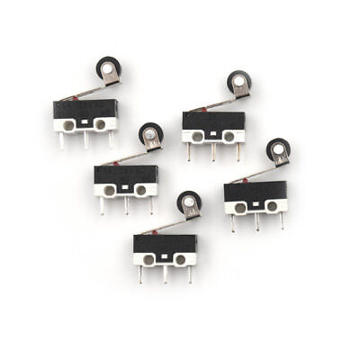 5x Ultra Mini Micro Switch Roller Lever Actuator Microswitch SPDTSubMiniature JF