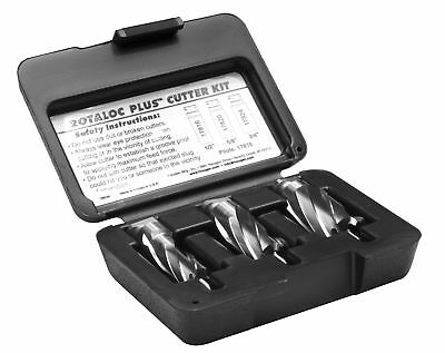"""NEW HOUGEN HOU-17802 RotaLoc Plus Cutter Kit 1/2, 5/8, 3/4"""""""
