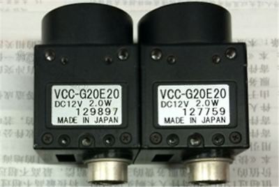 1Pcs Used Cis VCC-G20E20 Industrial Camera VCCG20E20 Tested mi