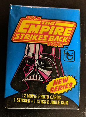 Topps 1980 Star Wars The Empire Strikes Back Series 2 Trading Card Wax Pack