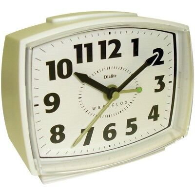 WESTCLOX(R) 22192 Westclox(R) Electric Alarm Clock with Constant Lighted Dial