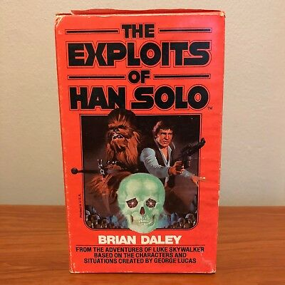 The Exploits of Han Solo Star Wars Paperback Book Series Brian Daley Vintage