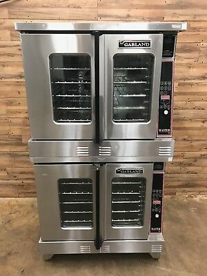 2007 Garland MCO-ES-10 Full Size Electric Convection Oven - Double Stacked