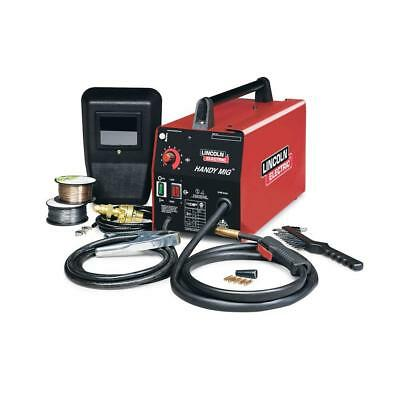Lincoln Electric MIG Welder 115V Flux-Cored Wire Feed Welding Machine Weld Steel
