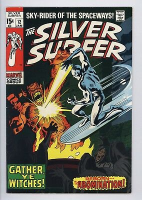 Silver Surfer #12 Vol 1 Near Perfect High Grade Abomination Appearance