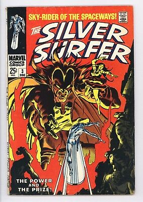 Silver Surfer #3 Vol 1 Very High Grade 1st Appearance of Mephisto