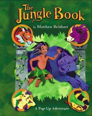 The Jungle Book: A Pop Up Adventure by Matthew Reinhart 9781416918240