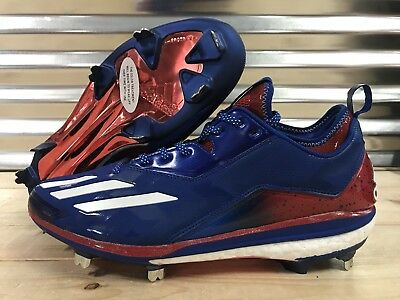 Adidas Boost ICON 2.0PE Kris Bryant Metal Beisbol Tacos Muestra USA (by3318)