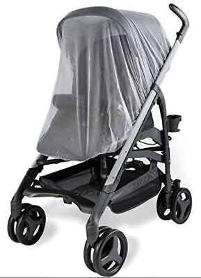 UPPABABY Nuna Tavo Baby Stroller Mosquito Insects Net Mesh White Shield CoverNEW