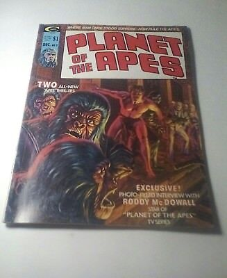 1974 Planet Of The Apes Magazine # 3 * Free Shipping In Canada & Usa Mainland *
