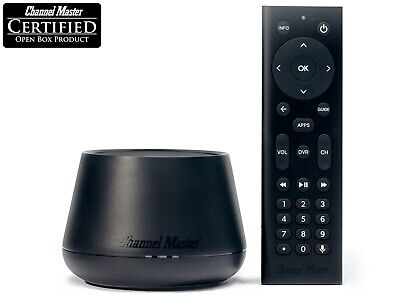 Channel Master Stream+ Android Streaming Media Player Antenna OTA DVR CM-7600