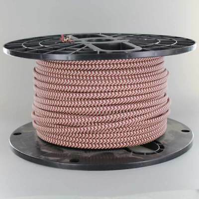2-Wire Cloth Covered Cord 18ga Vintage Style Lamp Cord  { 25 COLORS } ~ Per Foot
