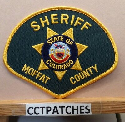 Moffat County, Colorado Sheriff (Police) Shoulder Patch Co