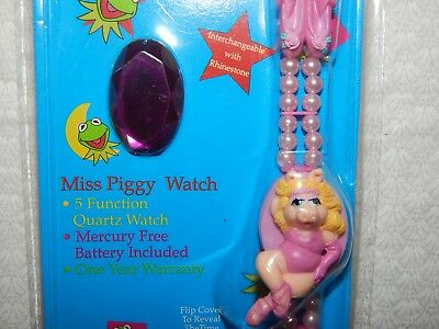 Vintage Miss Piggy Muppets Watch - 1993 - By HOPE - New in Package