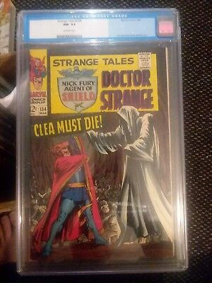 Strange Tales 154 CGC 9.2 Old Label OW Pages